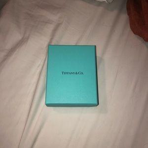 Authentic blue Tiffany & Co. box
